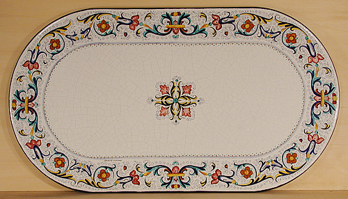 Deruta Ricco Oval - custom designs, sizes and colors