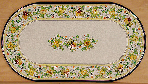 Fruit Vineyard Oval - custom designs, sizes and colors