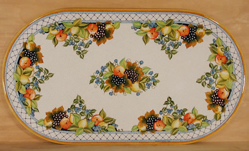 Fruit Festival Oval - custom designs, sizes and colors