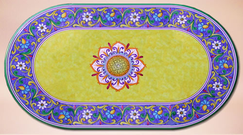 Daisyl Oval - custom designs, sizes and colors