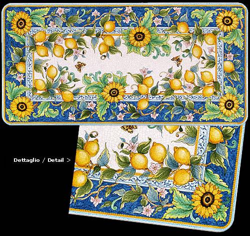 Lemon & Sunflower Fields - custom designs, sizes and colors