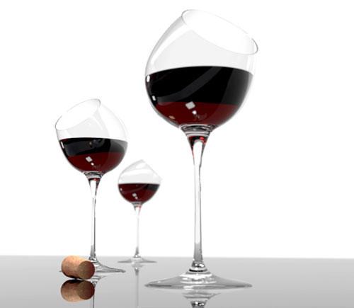 'Tipsy' Wine Tasting Glass - Set of 4