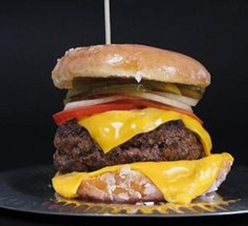 Paula Deen's Krispy Kreme Bacon Egg Cheeseburger - (Free Recipe below)