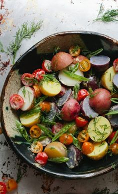Potato Salad with Dill and Horseradish Aioli - (Free Recipe below)