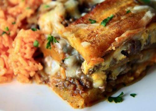 Pastelón Sweet Plaintain Lasagna - (Free Recipe below)