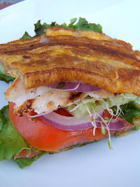 Jibarito Plantain and Steak Sandwich - (Free Recipe below)