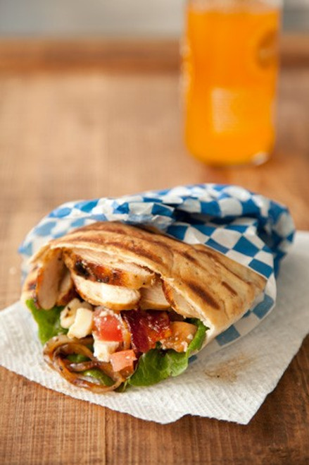 Grilled Chicken Pita by Paula Deen - (Free Recipe below)