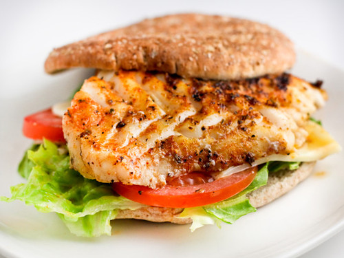 Grouper Sandwich with Creole Mayo - (Free Recipe below)