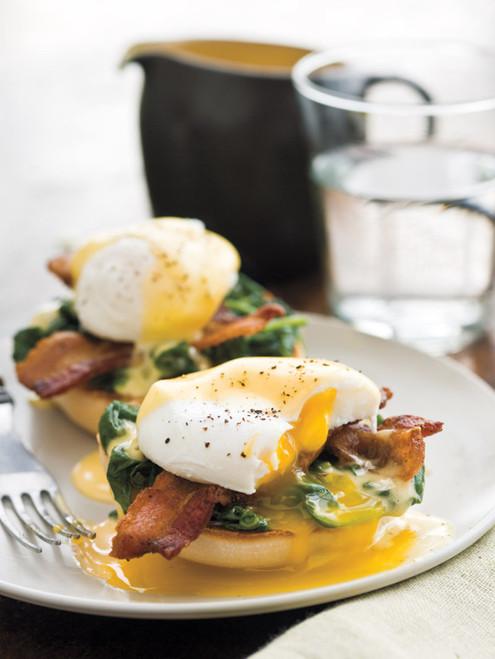 Lemony Eggs Florentine - (Free Recipe below)
