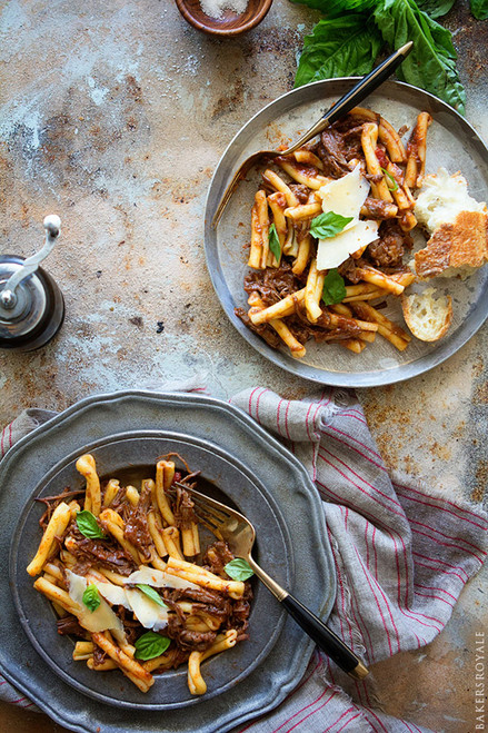 Braised Beef Ragu Pasta - (Free Recipe below)