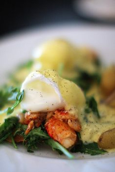 Lobster Eggs Benedict - (Free Recipe below)