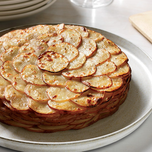 Potato Gratin with Herbs, Healthy - (Free Recipe below)