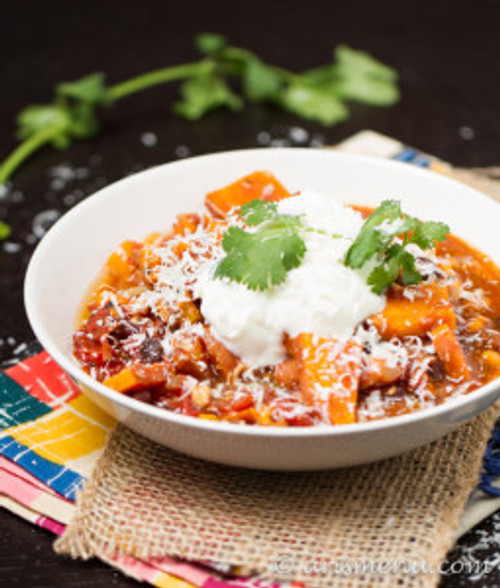 Sweet Potato Chicken Chili - (Free Recipe below)