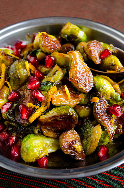 Citrus Caramelized Brussels Sprouts - (Free Recipe below)