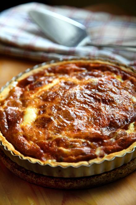 Swedish Cheese Pie Västerbottensost - (Free Recipe below)