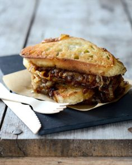 French Onion Soup Grilled Cheese Sandwich - (Free Recipe below)
