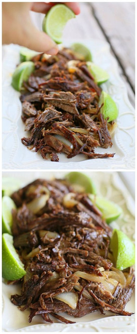 Cuban Shredded Beef - (Free Recipe below)