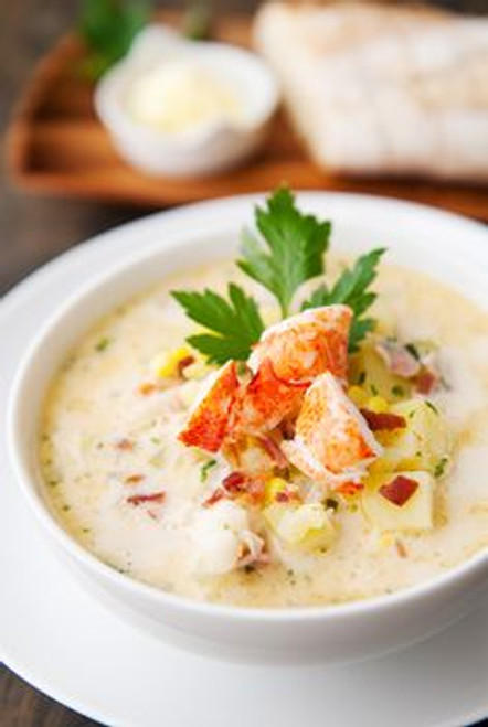 Lobster Corn Chowder - (Free Recipe below)