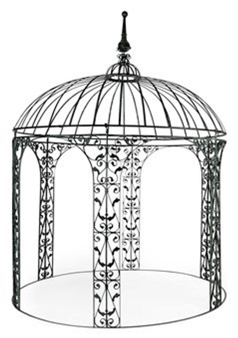Ogee Wrought Iron Gazebo - custom orders available