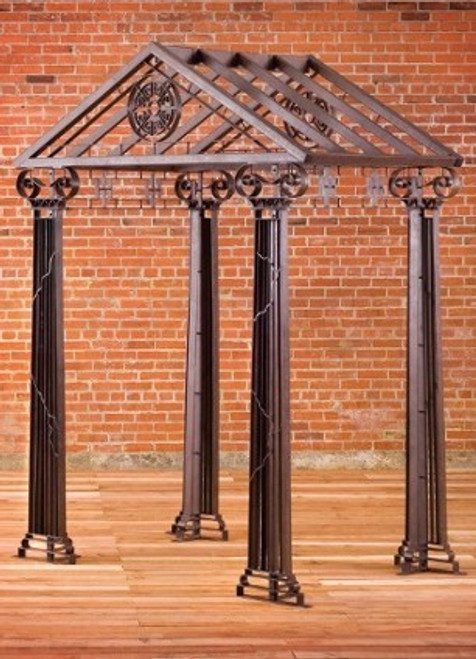 Greek Arbor Gazebo - custom sizes, styles available