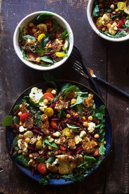 Power Salad with Jalapeno Dressing - (Free Recipe below)