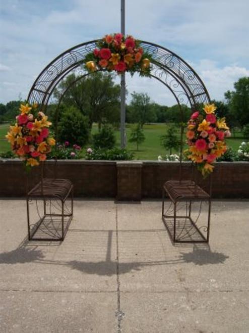 Wedding Arch  w/ Planters - custom orders accepted
