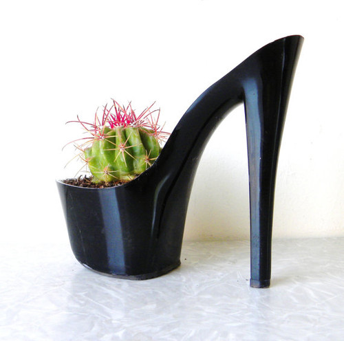 Stiletto Shoe Plant Holder