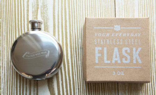 To My Health Flask - other sayings available