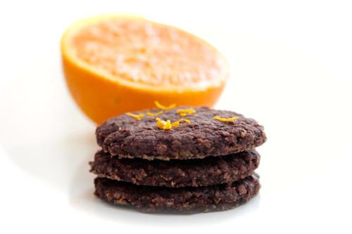 Chocolate Orange Biscuit Cookies - Includes 8