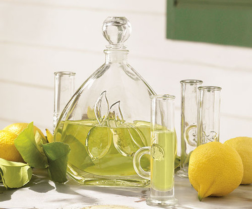 Limoncello Carafe & 6 Glasses