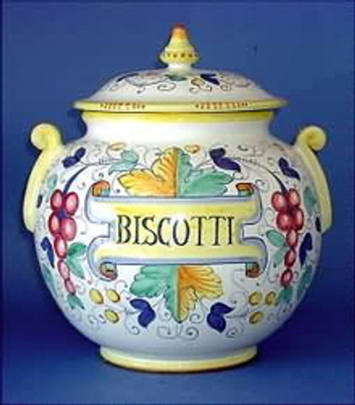 Autunno Biscotti Jar, Large Oversized