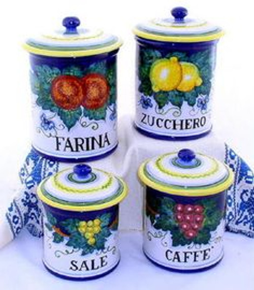 Frutta Canister Set of 4