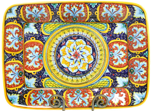 Rectangular Large Serving Platter, multiple designs