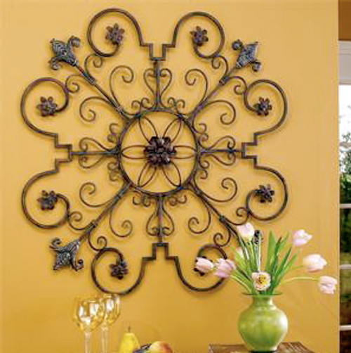 """Medallion Wall Grille  35""""D"""
