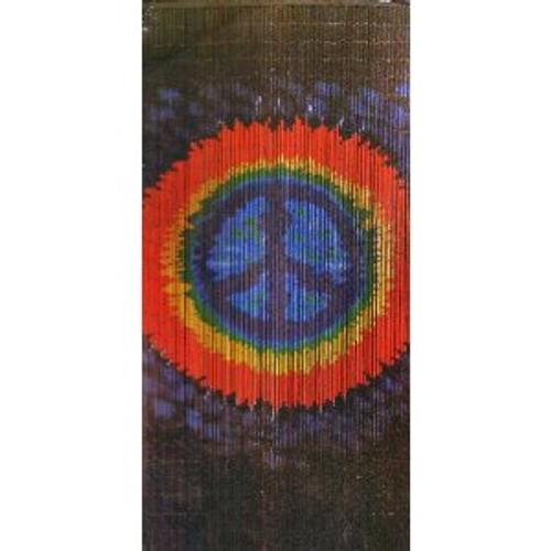 Peace Bamboo Beaded Curtain