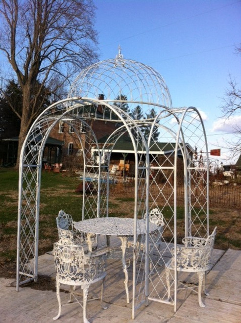 Old World Lattice Gazebo - multiple sizes available