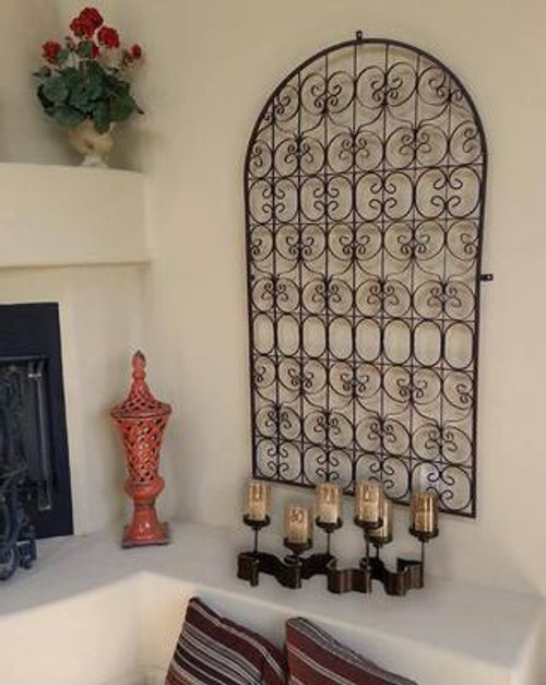 Arched Tuscan Gate Wall Grille