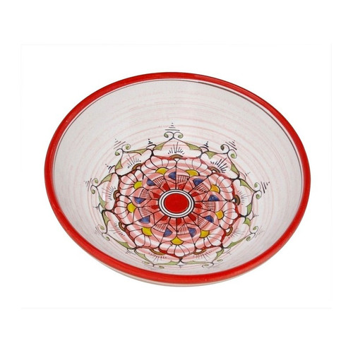 Lace Medium Bowl - Set of 4 - Red or Blue