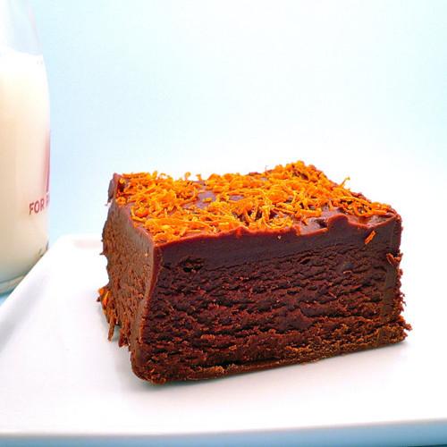 Orange Chocolate Fudge - 1/2 Pound