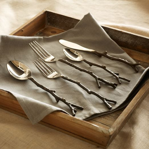 Twig Flatware and Servers - per place setting