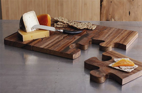 Puzzle Board Server Cutting Board