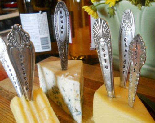 Cheese Markers Set of 5, multiple designs