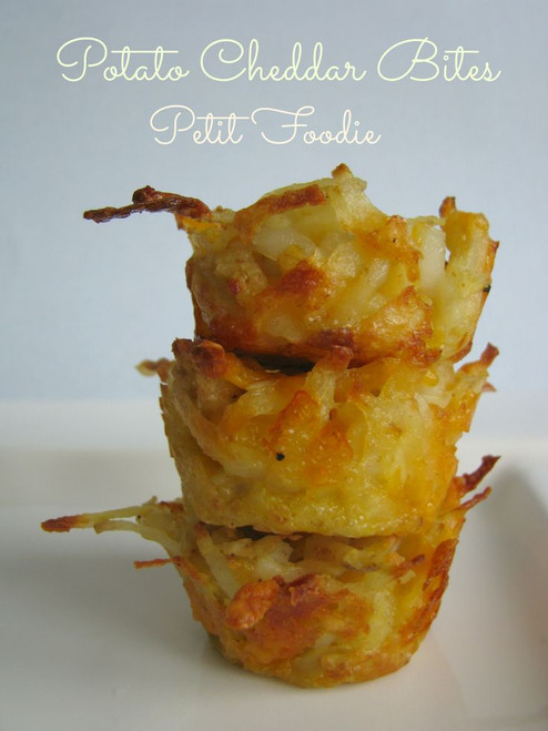 Cheddar Potato Bites - (Free Recipe below)