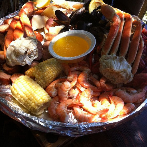 Low Country Seafood Boil - (Free Recipe below)