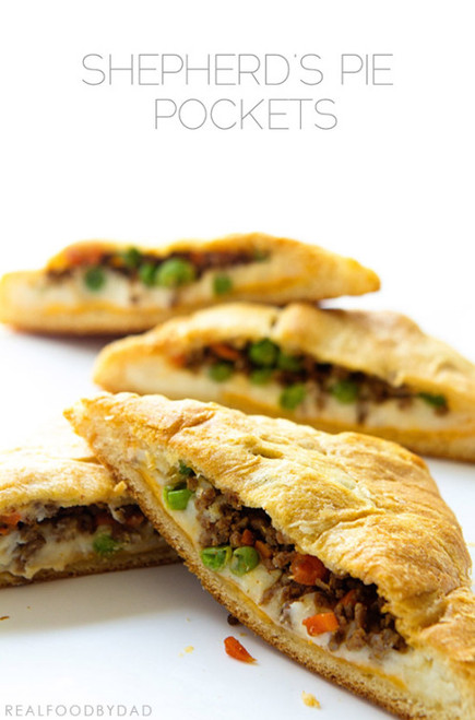 Shepherd's Pie Pockets - (Free Recipe below)