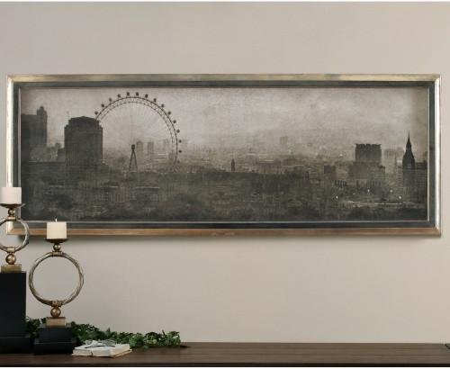 London Landmarks Framed Art Wall Decor