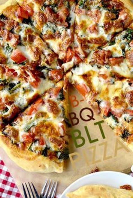 BLT BBQ Pizza - (Free Recipe below)
