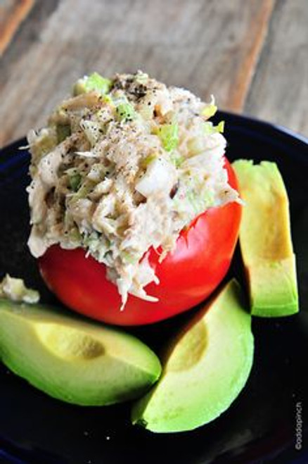 Crab Salad - (Free Recipe below)