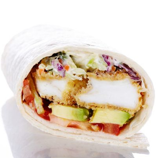 Crunchy Fish and Creamy Coleslaw Wraps - (Free Recipe below)
