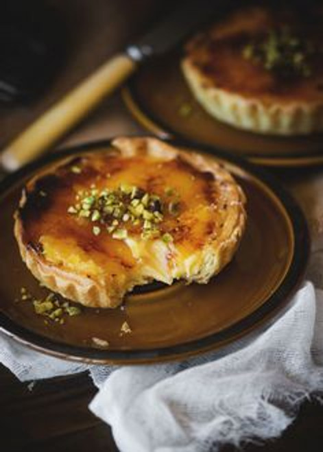 Ginger Brulee Tart - (Free Recipe below)